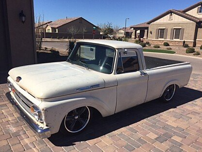 1962 Ford F100 2WD Regular Cab for sale 100843258