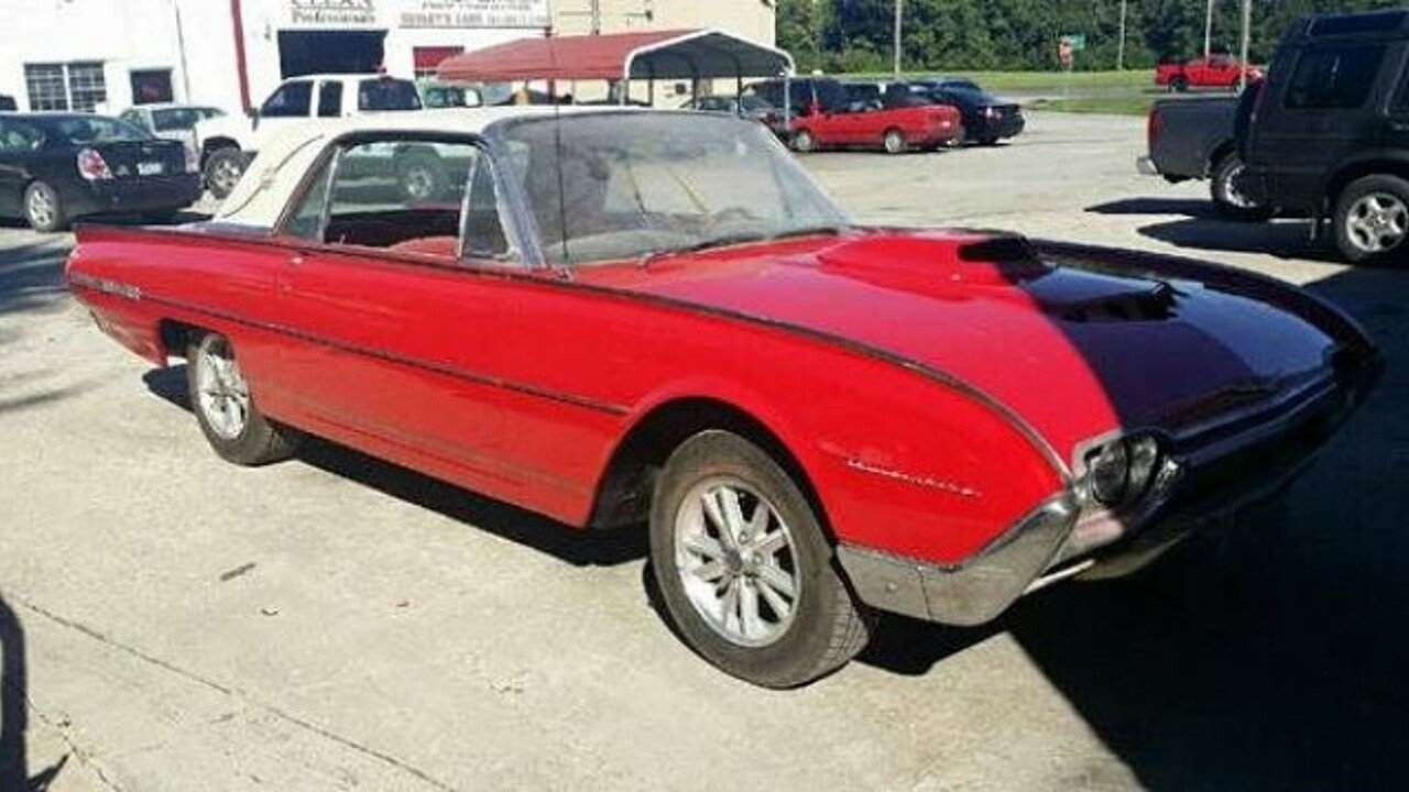 1962 Ford Thunderbird for sale 100837506