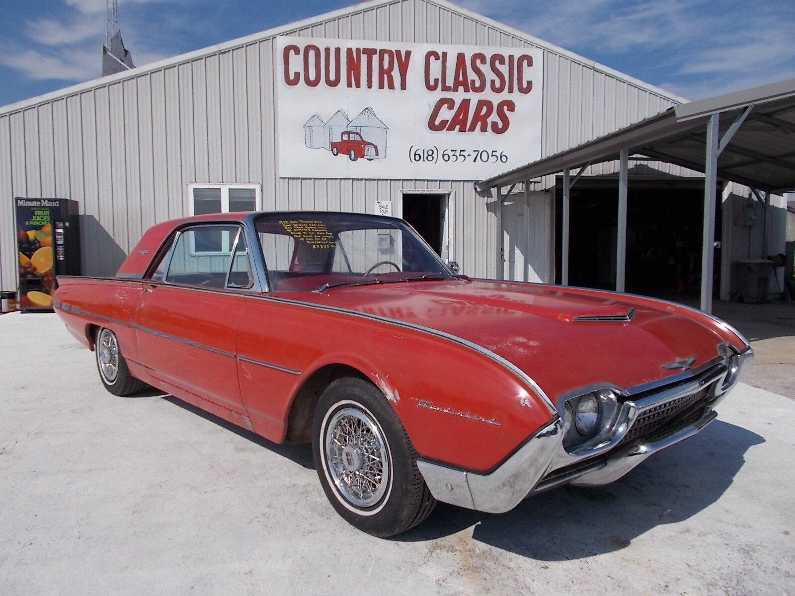 sle of xhtml code 1962 ford thunderbird classics for sale classics on autotrader