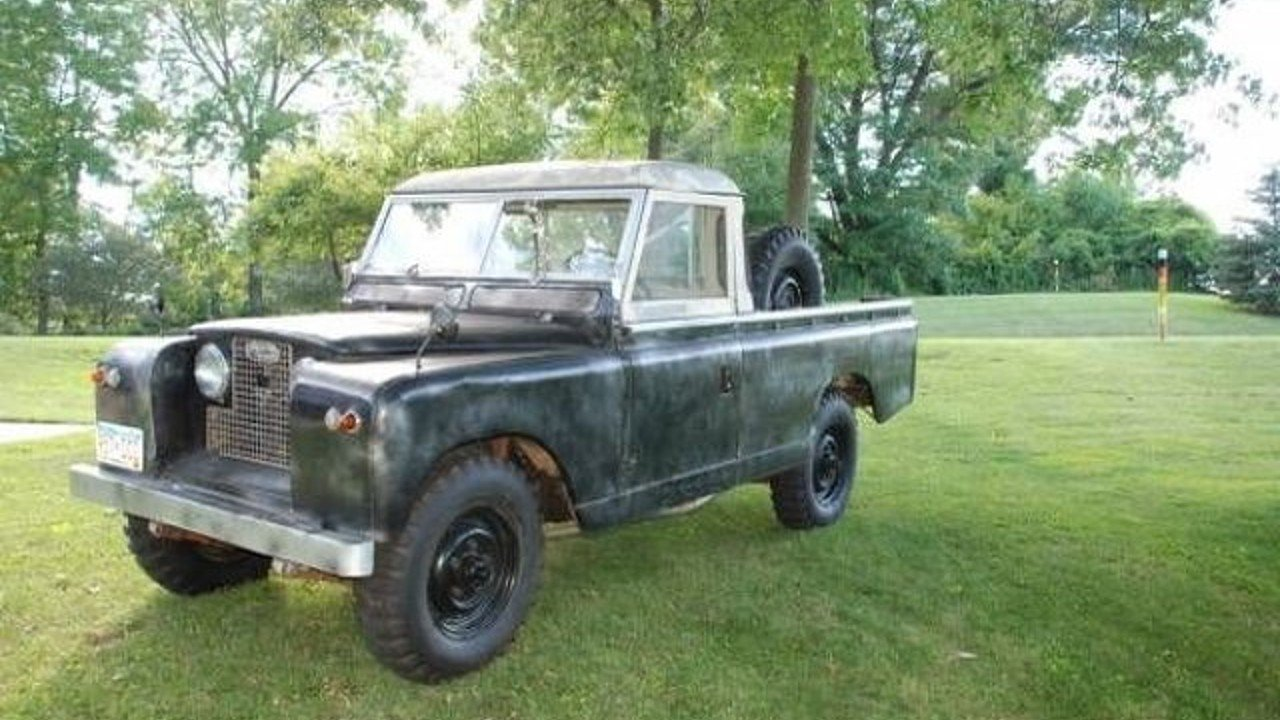 1962 land rover series ii for sale near cadillac michigan. Black Bedroom Furniture Sets. Home Design Ideas
