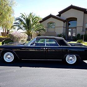 1962 Lincoln Continental Signature for sale 100773897