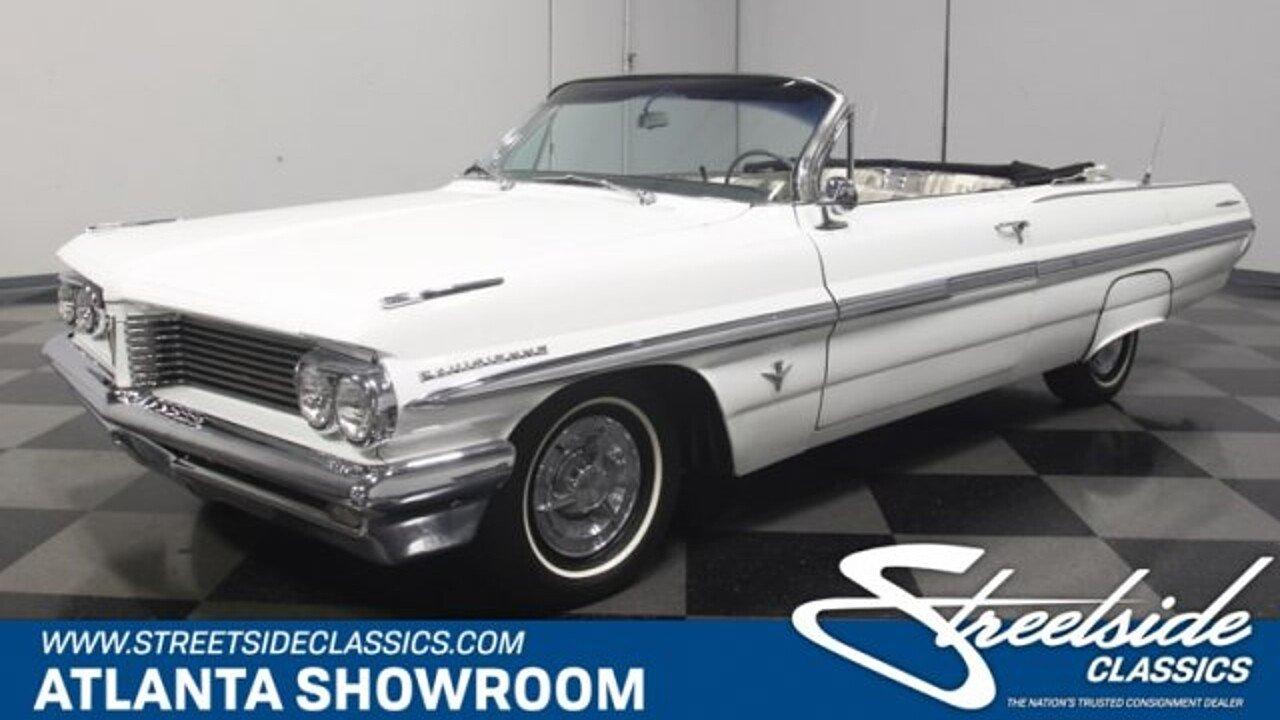 1962 Pontiac Parisienne for sale near Lithia Springs, Georgia 30122 ...