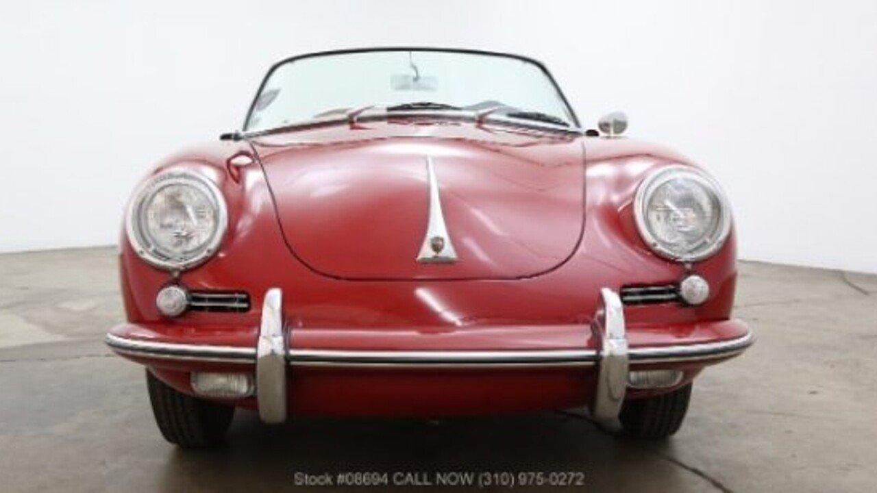 1962 Porsche 356 for sale near Los Angeles, California 90063 ...