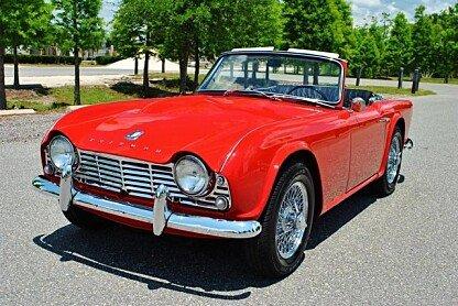 1962 Triumph TR4 for sale 100760742