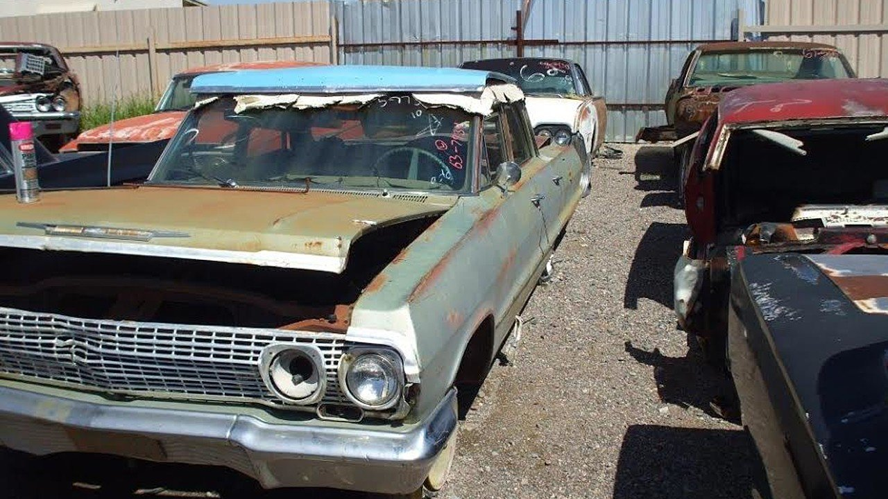 1963 Chevrolet Bel Air for sale 100786848