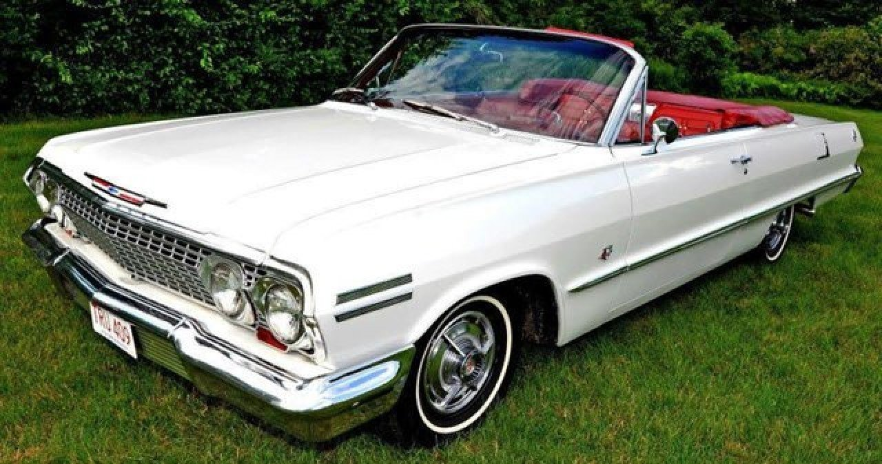 1963 Chevy Impala SS 2 door coupe