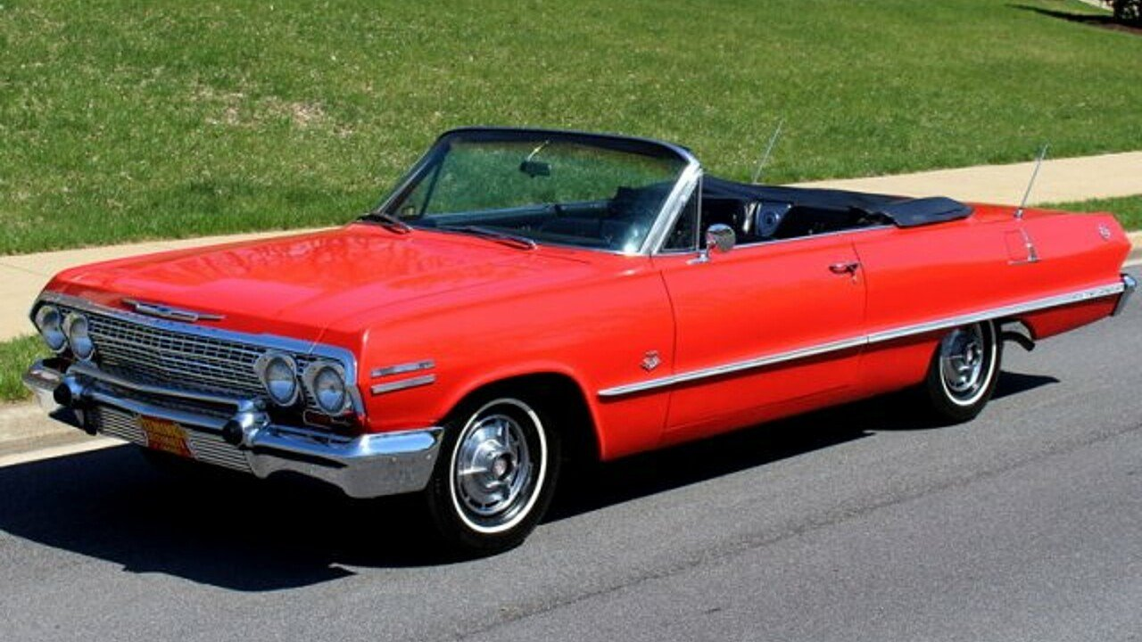 1963 Chevrolet Impala for sale near Rockville, Maryland 28050 ...