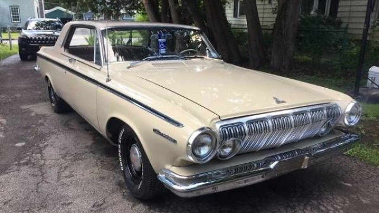1963 dodge polara for sale near cadillac michigan 49601. Black Bedroom Furniture Sets. Home Design Ideas