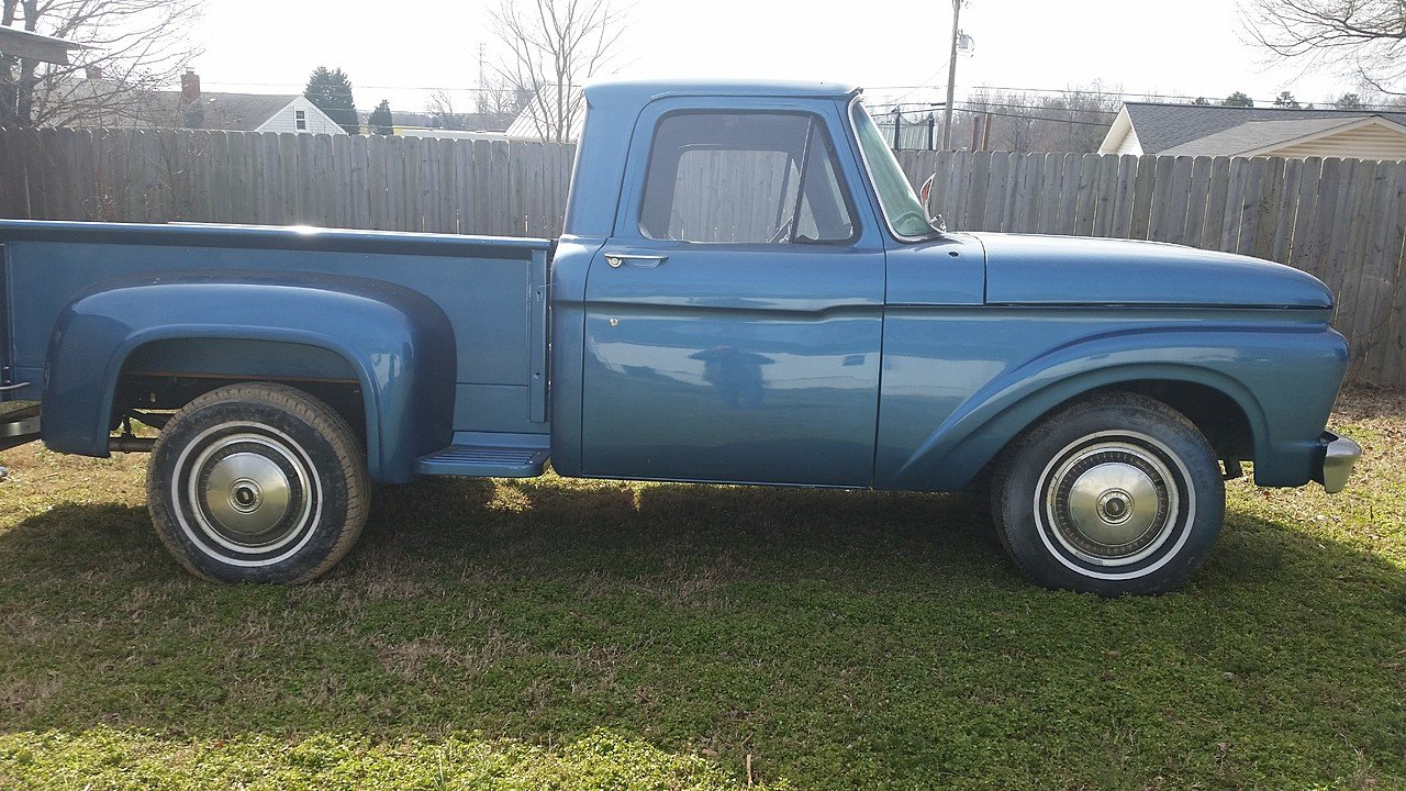 1963 ford f100 2wd regular cab for sale near kernersville. Black Bedroom Furniture Sets. Home Design Ideas