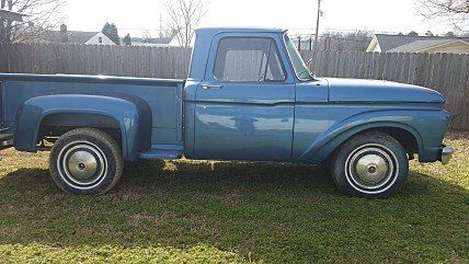 1963 Ford F100 2WD Regular Cab for sale 100927481