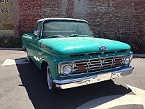 1963 Ford F100 2WD Regular Cab for sale 100986019
