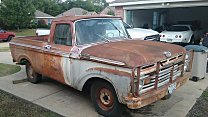 1963 Ford F100 2WD Regular Cab for sale 101052944