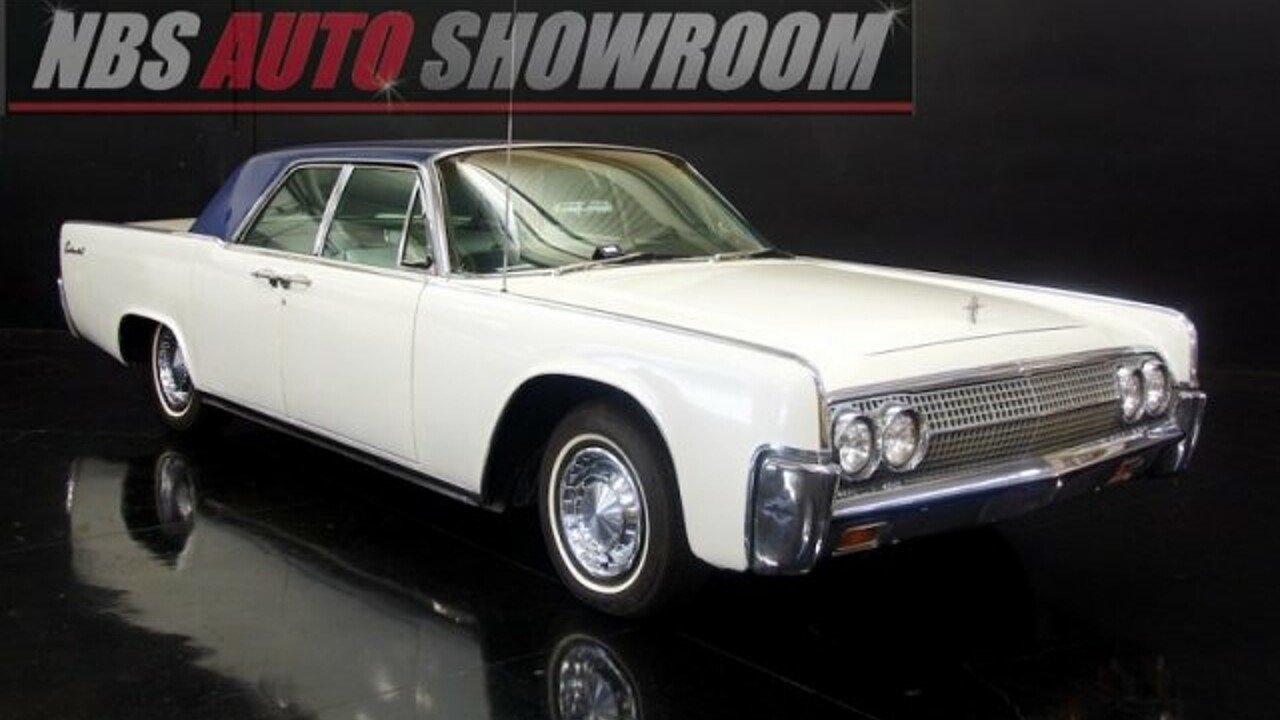1963 Lincoln Continental for sale 100786821