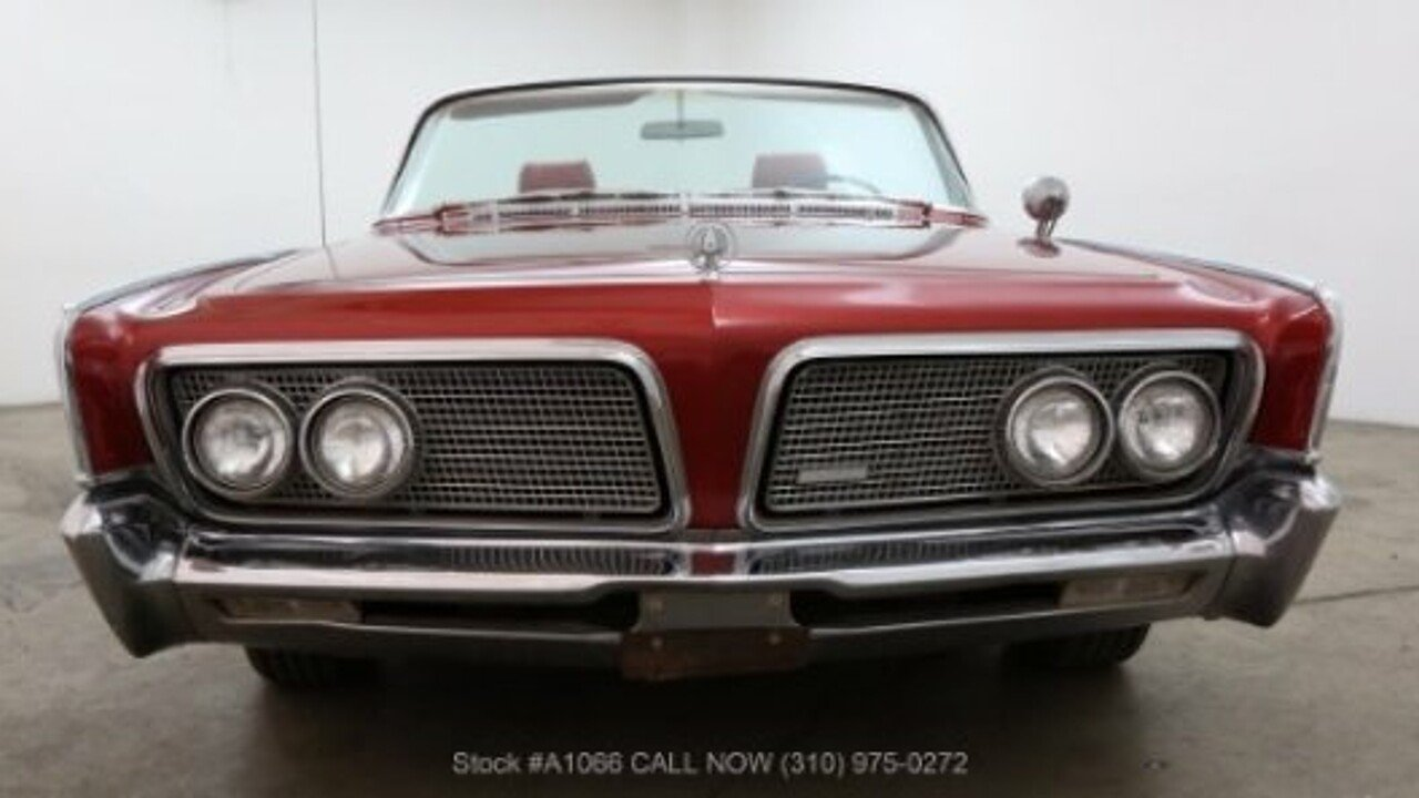 1964 Chrysler Imperial for sale near Los Angeles, California 90063 ...