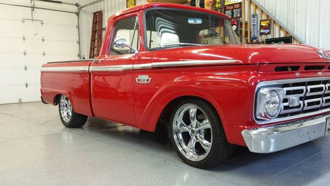 1964 Ford F100 2wd Regular Cab For Sale Near Hilton New York 14468 Pickup Truck 100996641