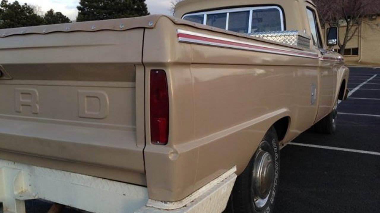 1964 Ford F250 For Sale Near Colorado Sprngs 80907 F 250 Truck 100972963