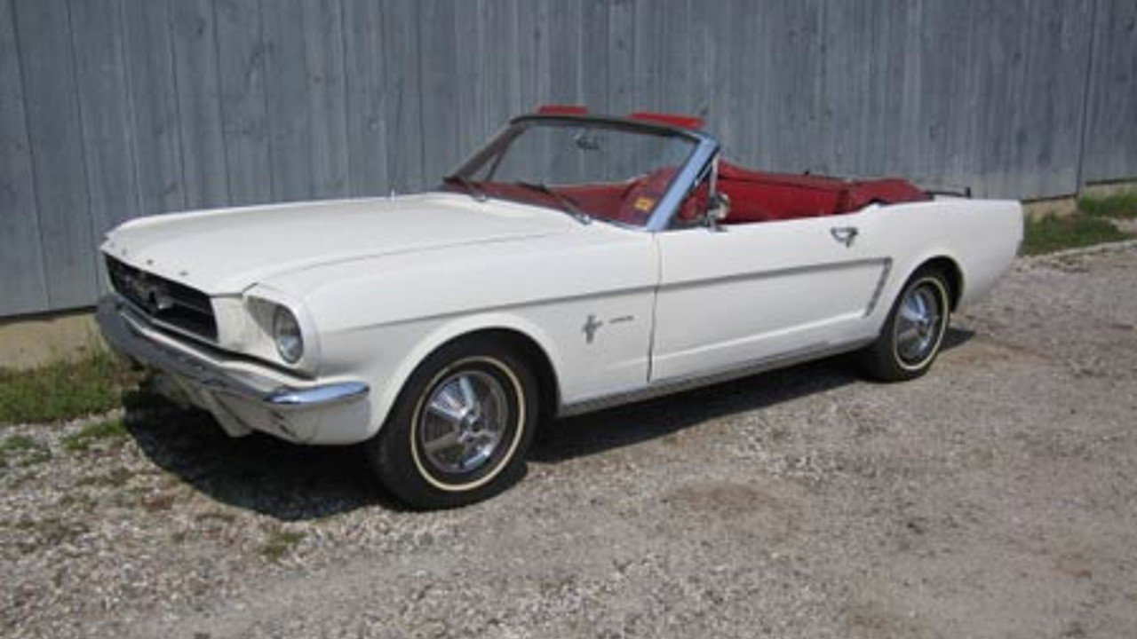 1964 Ford Mustang For Sale Near Freeport Maine 04032 Classics On Convertible 100745674