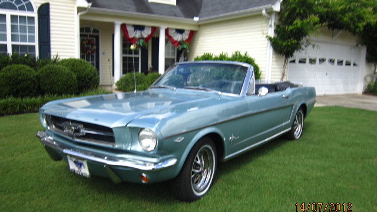 1964 ford mustang convertible for sale near senoia georgia 30276 classics on autotrader. Black Bedroom Furniture Sets. Home Design Ideas