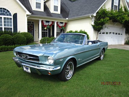 1964 ford mustang classics for sale classics on autotrader. Black Bedroom Furniture Sets. Home Design Ideas