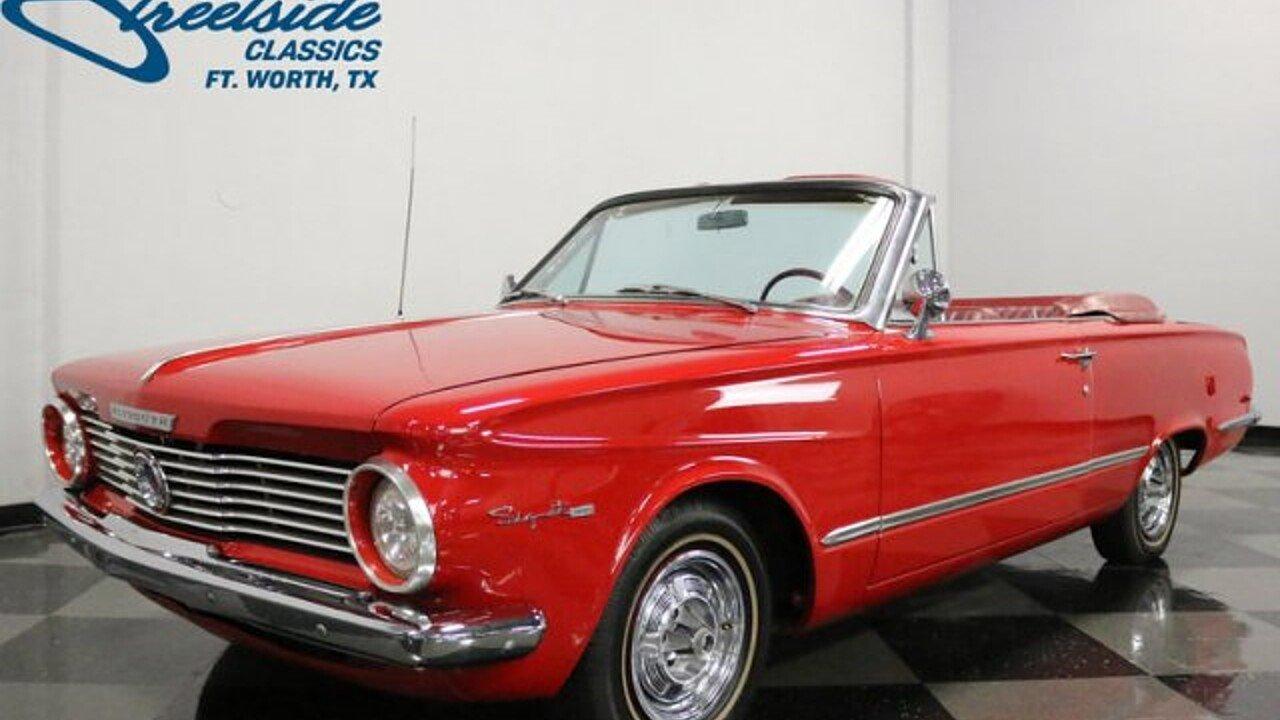 1964 Plymouth Valiant for sale near Fort Worth, Texas 76137 ...