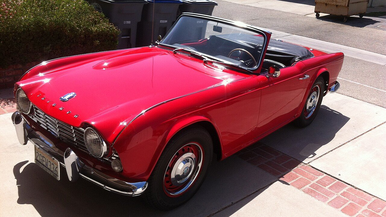 1964 triumph tr4 for sale near oxnard california 93035. Black Bedroom Furniture Sets. Home Design Ideas