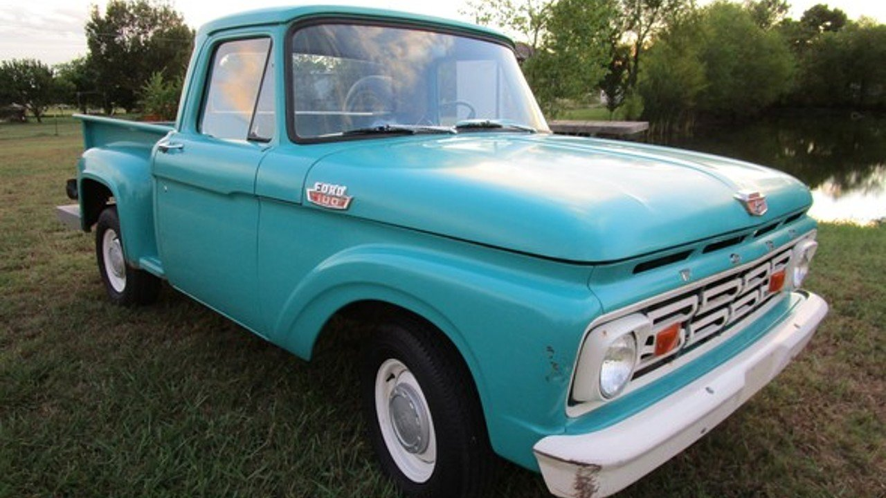 1964 Ford F100 For Sale Near Woodland Hills California 91364 Pickup 100912166