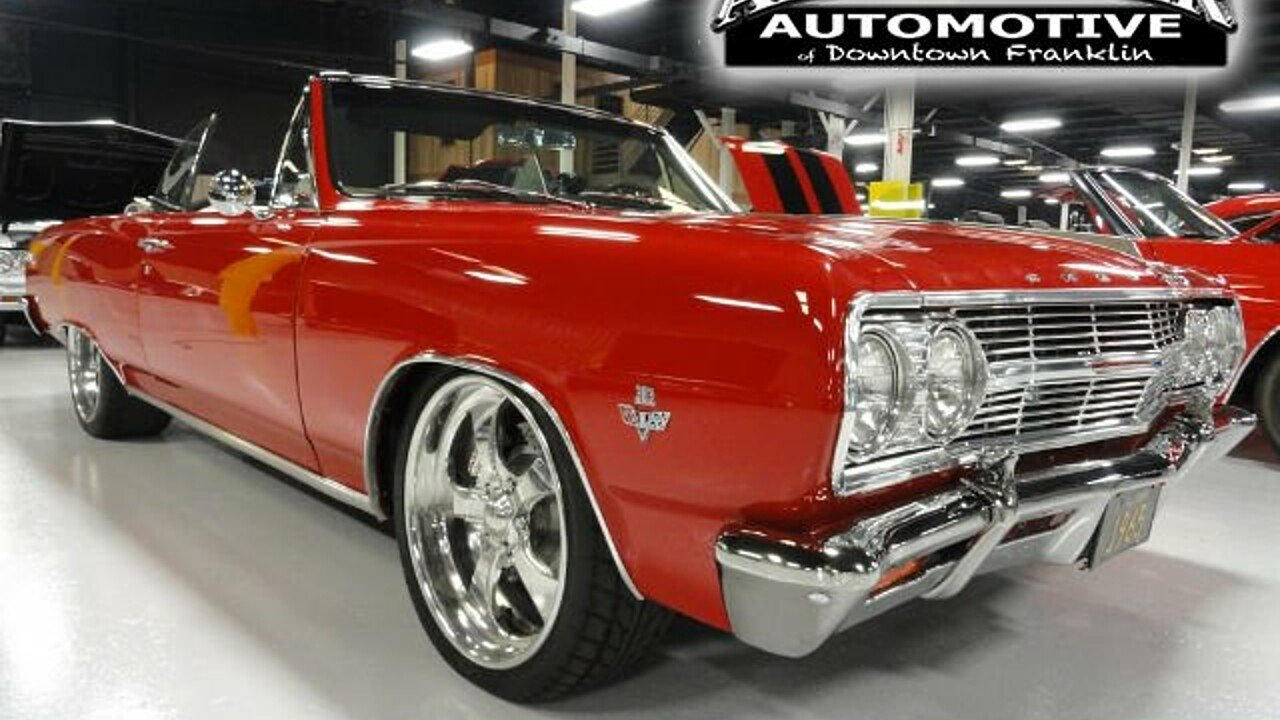 1965 Chevrolet Chevelle for sale 100860533