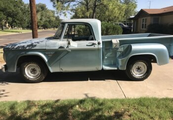1961 Dodge D W Truck Classics For Sale Near Los Angeles California
