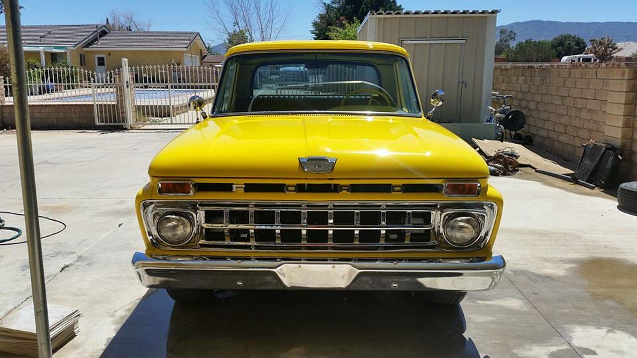 1965 Ford F100 2WD Regular Cab for sale 100878819