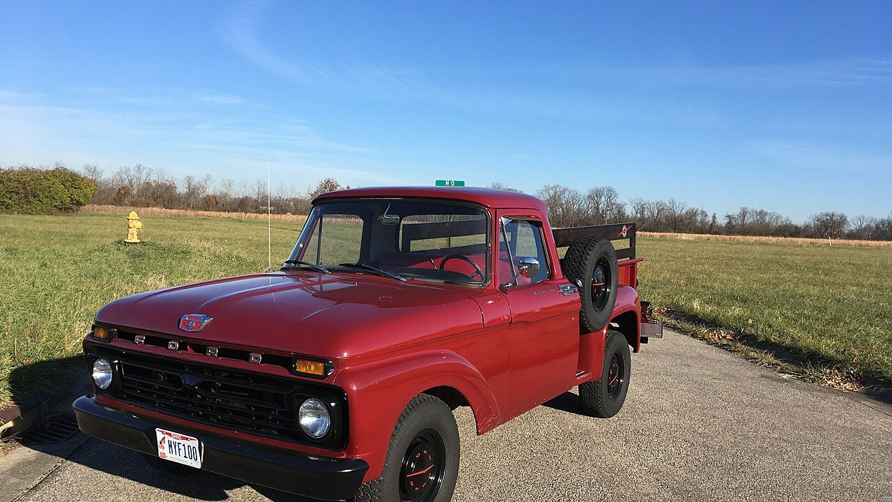 1965 Ford F100 2WD Regular Cab for sale 100928985