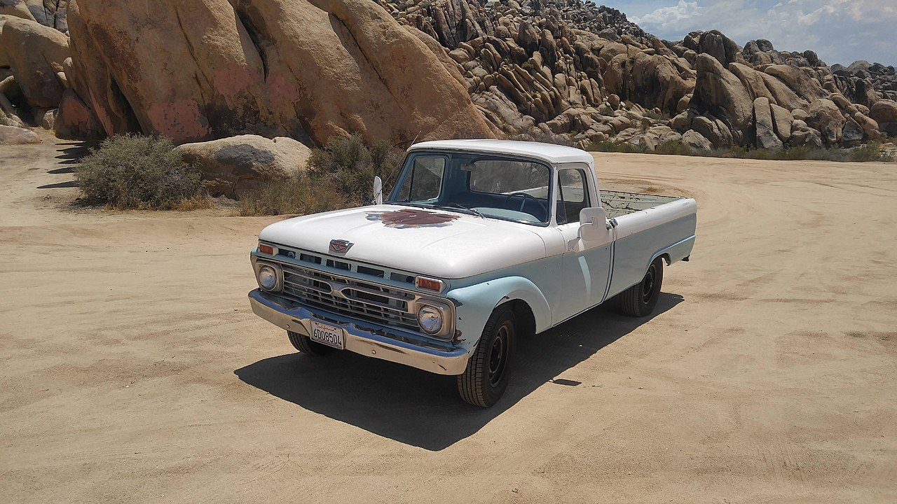 1965 Ford F250 2WD Regular Cab for sale 101010088