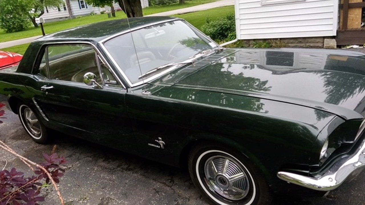 1965 Ford Mustang Coupe for sale 101000943