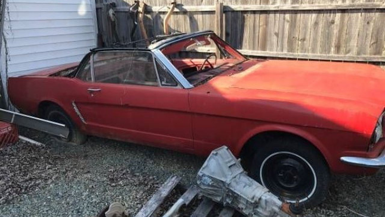 1965 Ford Mustang Convertible for sale 100858522