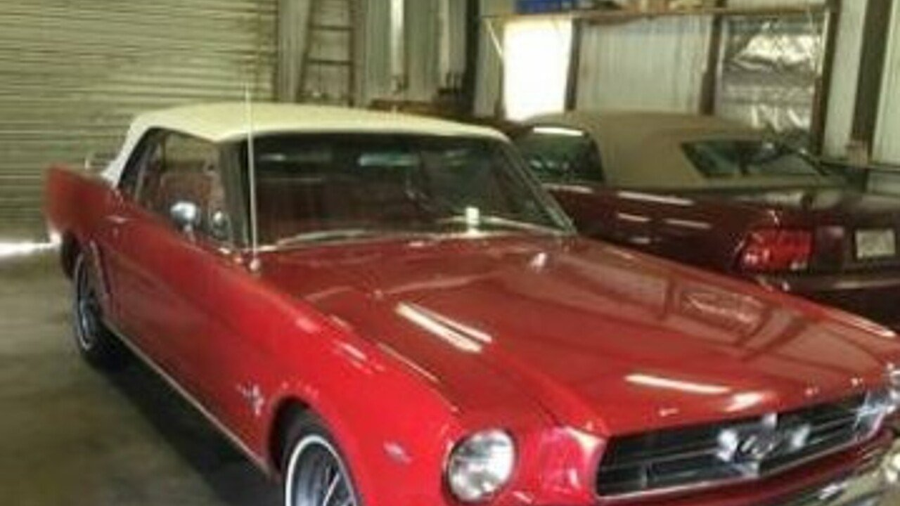 1965 Ford Mustang Convertible for sale 100872202