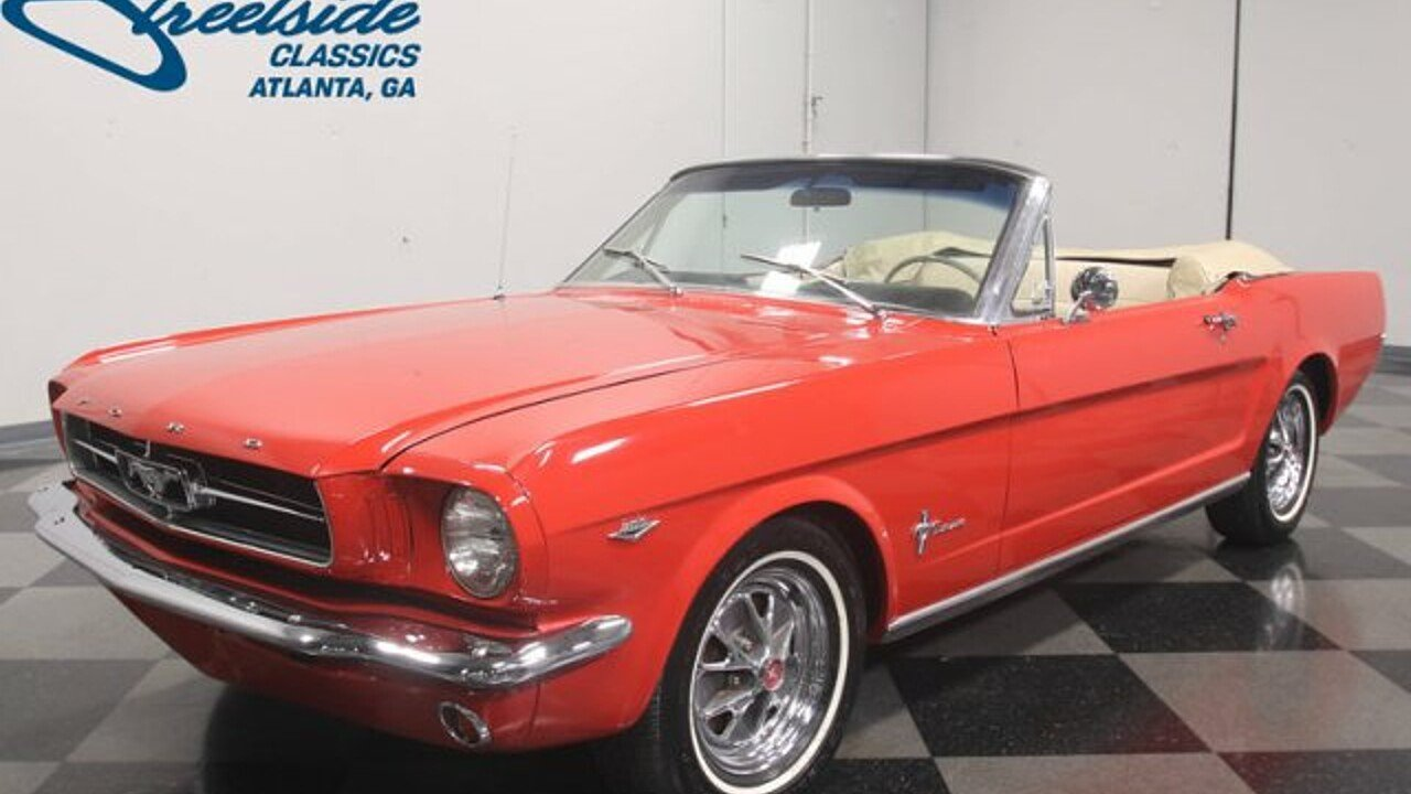 1965 Ford Mustang for sale near Lithia Springs, Georgia 30122 ...