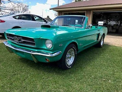 1965 Ford Mustang Convertible for sale 100867495