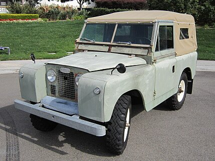 1965 Land Rover Series II Clics for Sale - Clics on Autotrader