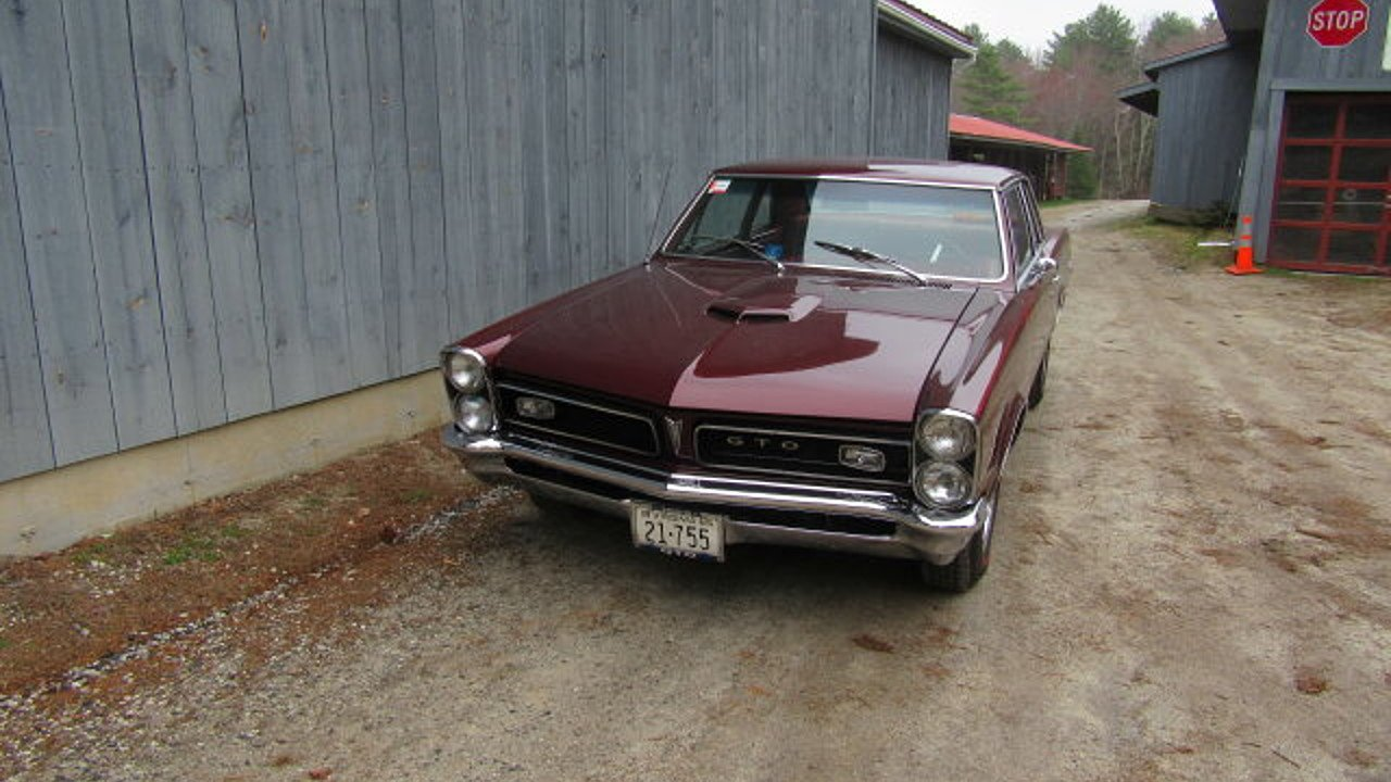 1965 pontiac gto for sale near freeport maine 04032 classics on autotrader. Black Bedroom Furniture Sets. Home Design Ideas