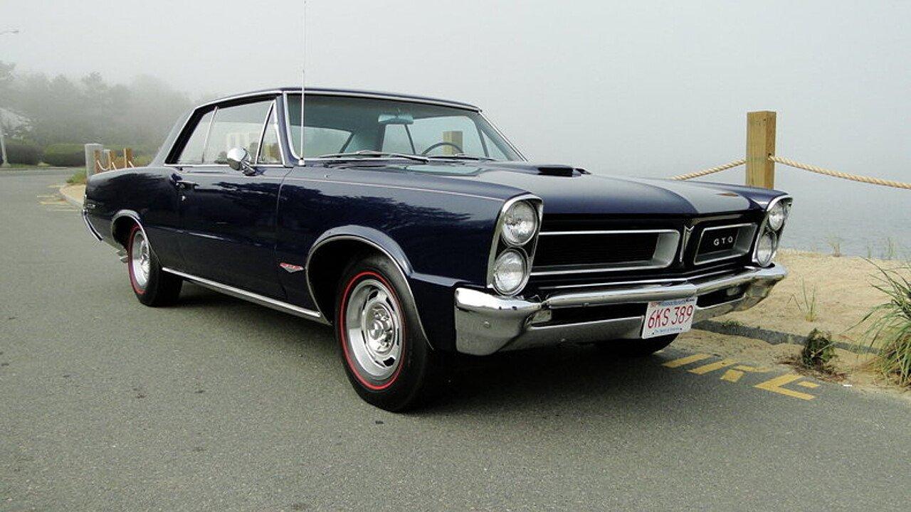 1965 Pontiac GTO for sale near Beverly, Massachusetts 01915 ...