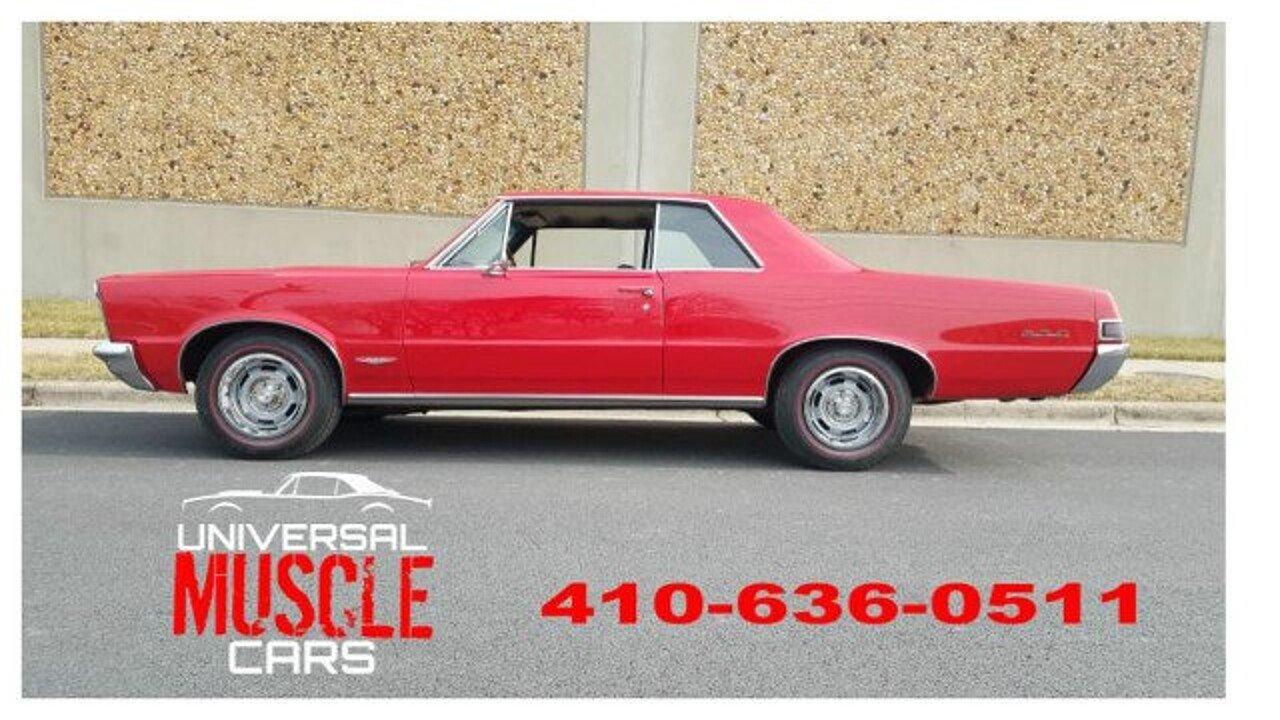 1965 Pontiac GTO for sale near Linthicum, Maryland 21090 - Classics ...