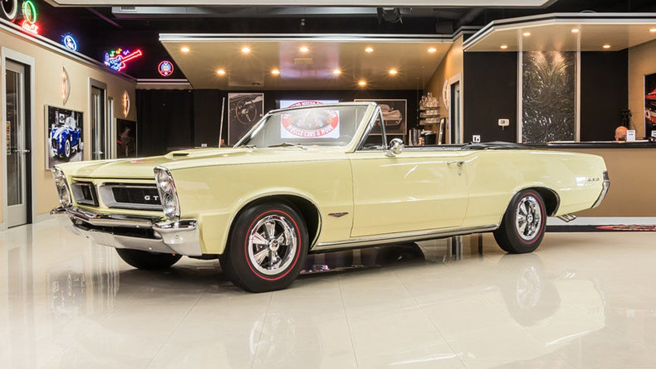 1965 Pontiac Gto For Sale Near Plymouth Michigan 48170 Classics Phs Documented 4 Speed Tri Power 389 Red Black 100999731