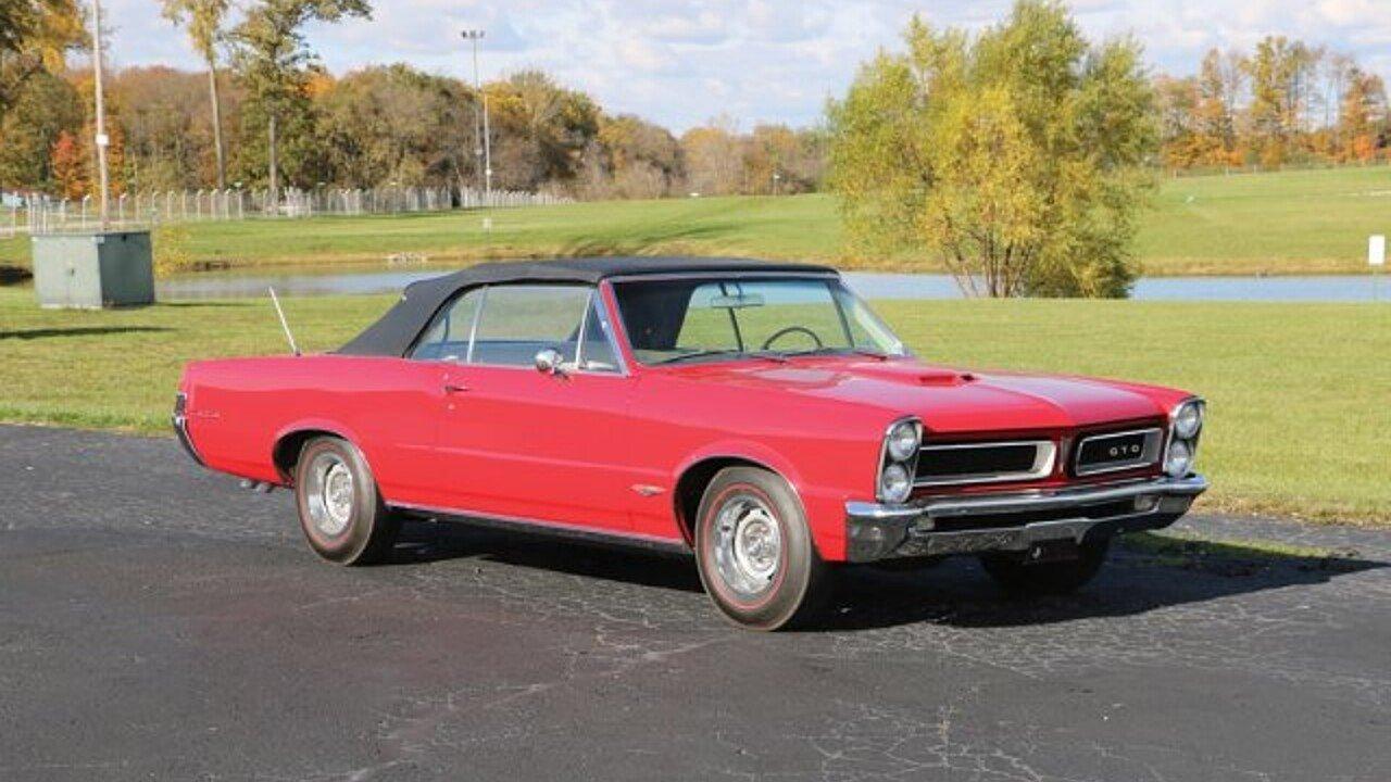 1965 Pontiac GTO for sale near Auburn, Indiana 46706 - Classics on ...