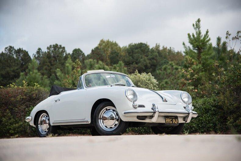 cabriolet Porsche vintage