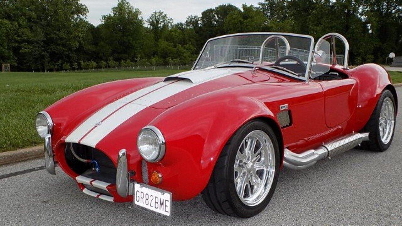 1965 Shelby Cobra-Replica for sale near Ellicott City, Maryland ...