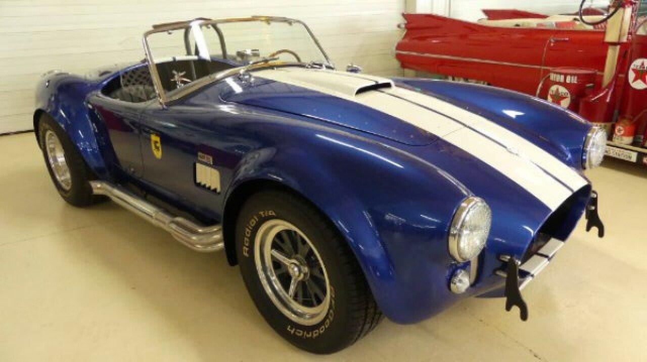 Shelby Cobra Replica Classics For Sale Classics On Autotrader