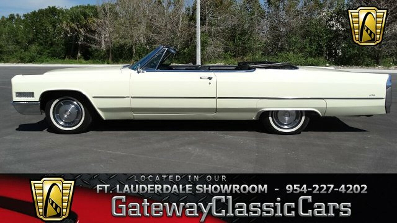 1966 Cadillac De Ville for sale 100966659
