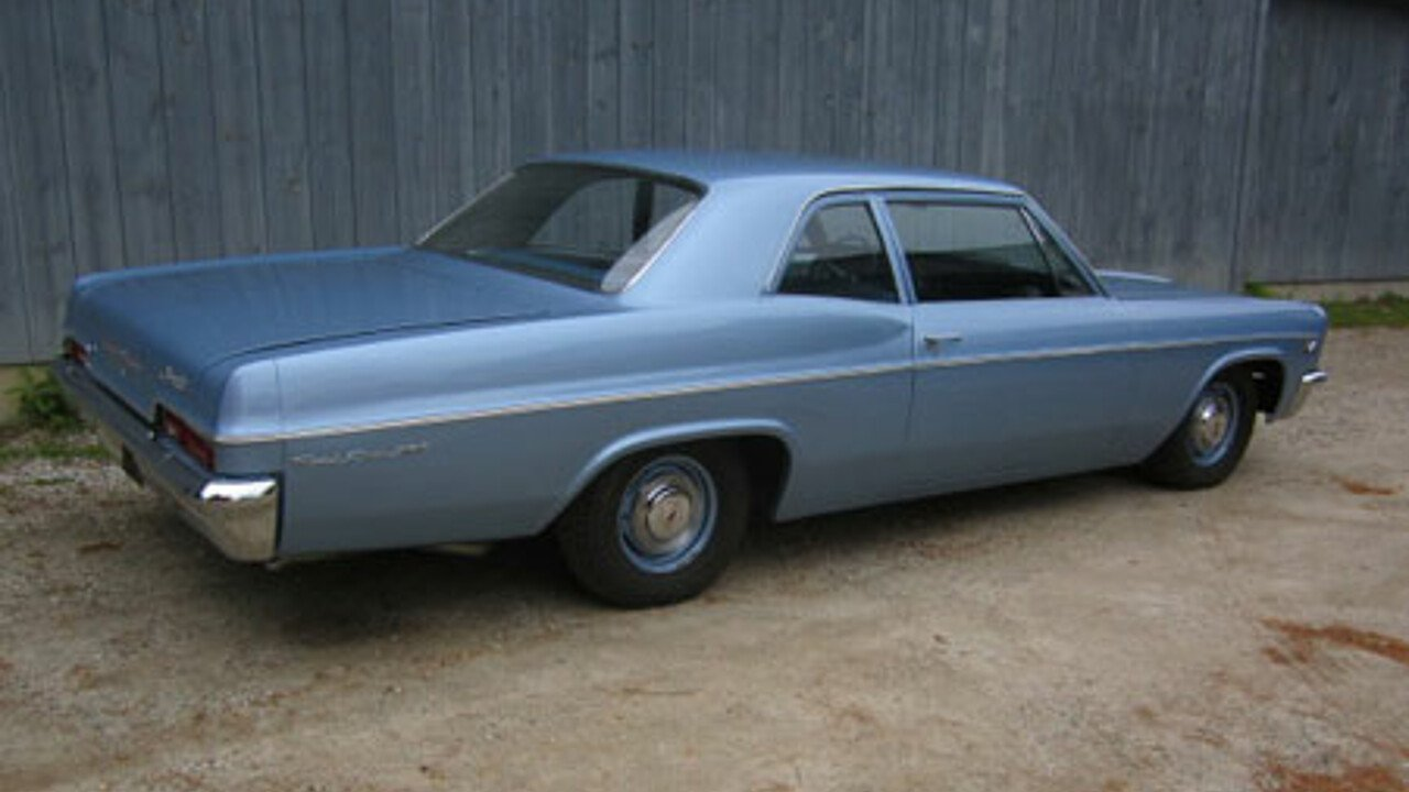 1966 Chevrolet Bel Air For Sale Near Freeport Maine 04032 Rear View 100745869