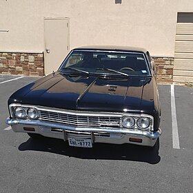 1966 Chevrolet Caprice Classic Coupe for sale 100751143