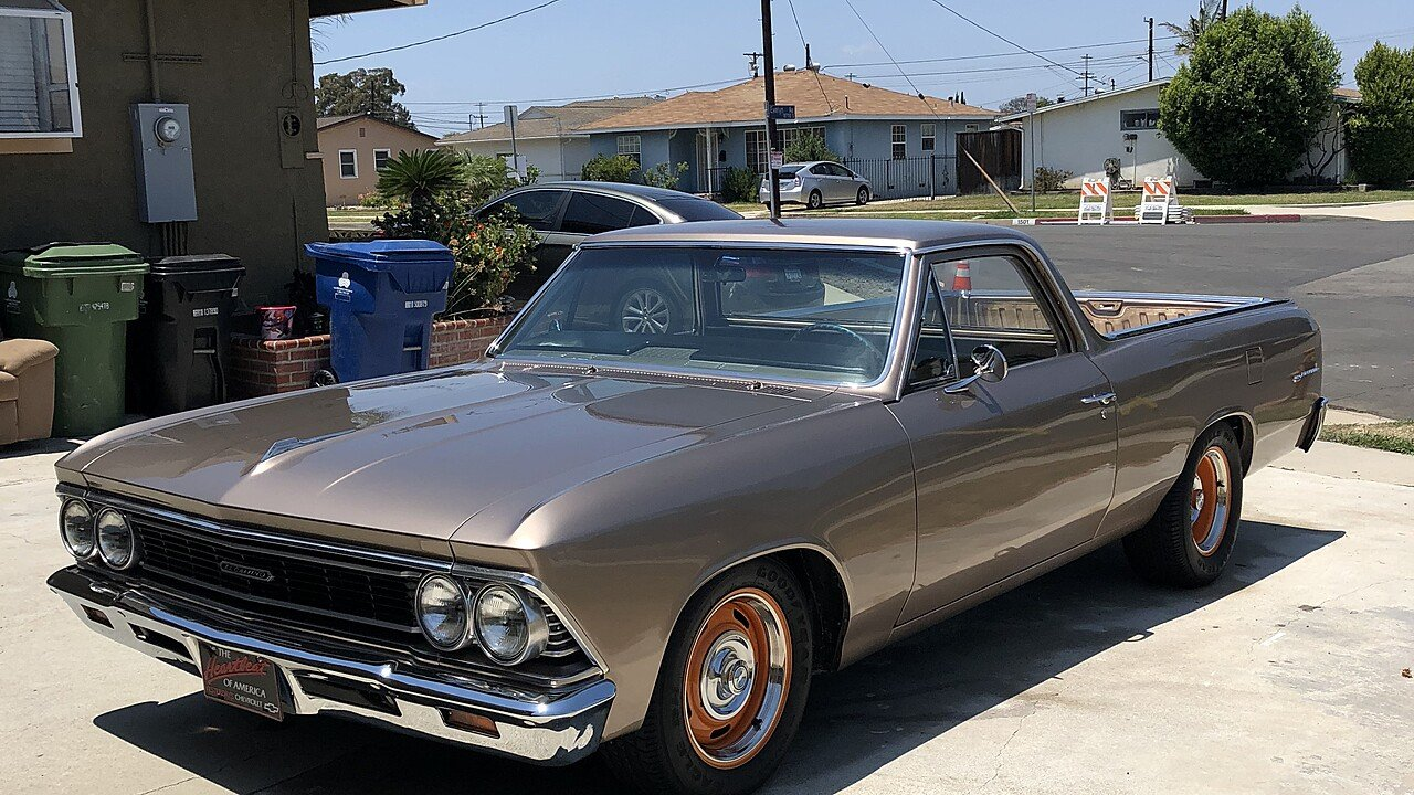 1966 Chevrolet El Camino V8 For Sale Near Torrance California 90504 101007641