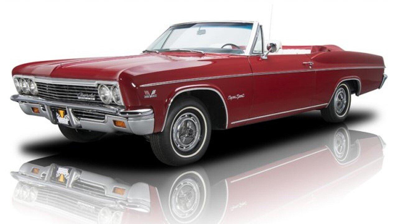 Impala 1966 chevrolet impala : 1966 Chevrolet Impala for sale near Charlotte, North Carolina ...
